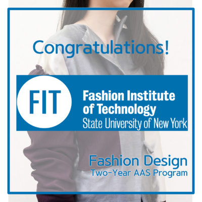 Student Accepted To Fit S Aas Fashion Design Best Online Art Courses New York Art Studio