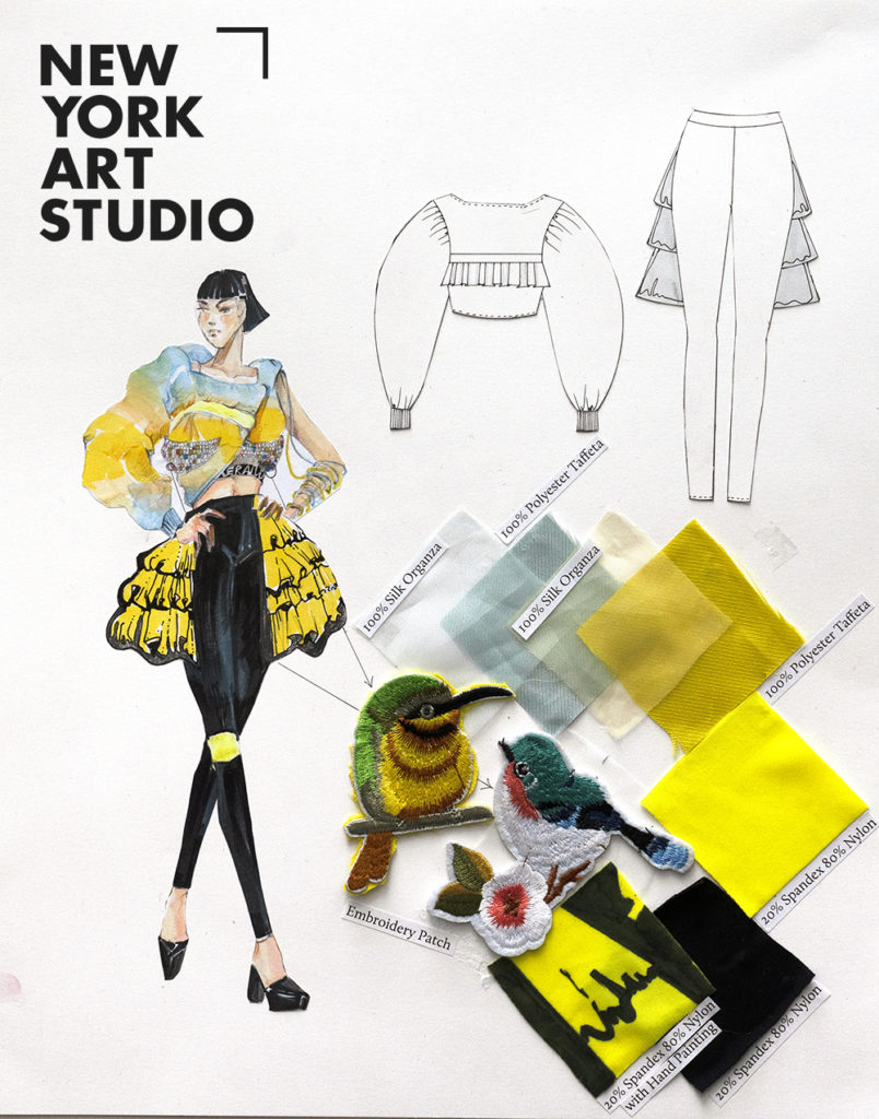 Student Accepted To Fit Aas Fashion Design Best Online Art Courses New York Art Studio